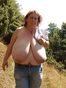 mature ladies fro obese boobs bush-league porn pics