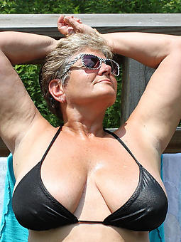 ideal titillating mature ladies in bikinis