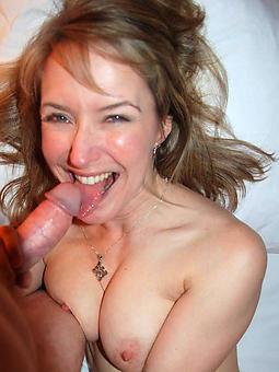 mature lady blowjob tease