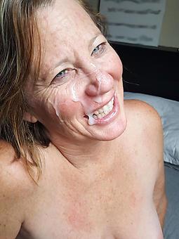 grown-up cumshot facial amateur nude pics
