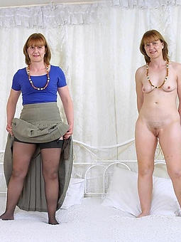 mature ladies dressed and undressed and still sexy