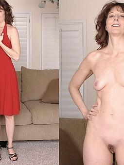 wild mature column dressed and nude pics