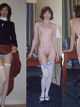 Ladies Dressed And Undressed Pics
