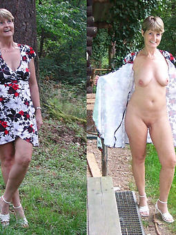 sexy matures dressed and undressed amateur mature pics