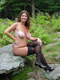 unconstrained mature wings and heels sexy pics