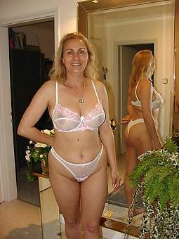 pretty grown-up ladies round lingerie