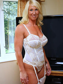 mature babes fro undergarments stripping