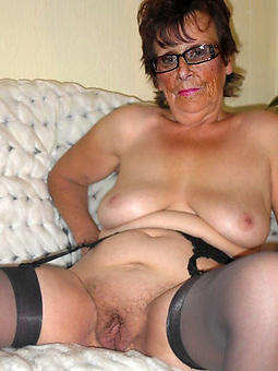 old lady boobs stripping
