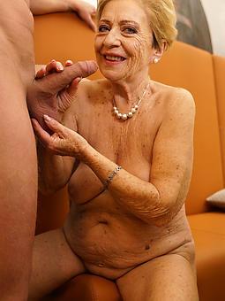 superannuated mature granny pussy