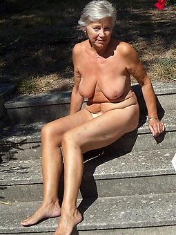 free naked old full-grown granny pics