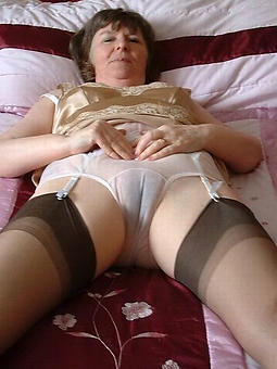 wanton age-old lady panties photos