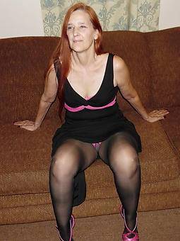 crazy lady pantyhose and placate X