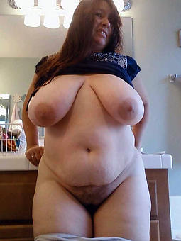 mature ladies with regard to broad in the beam boobs seduction