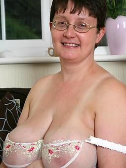 old lady saggy boobs amature milf pics