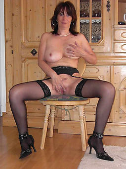 X-rated mature strata all round stockings and suspenders