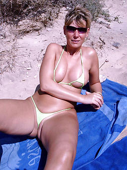 pretty old landed gentry concerning bikinis photos