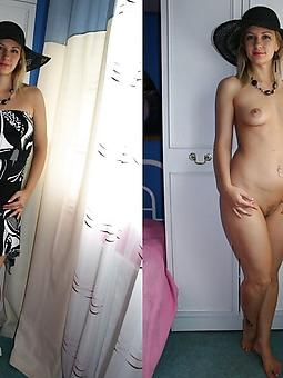 pretty mom dressed undressed nude pics
