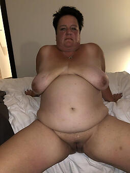 sexy bbw old lady stripping