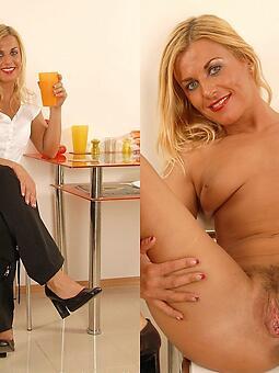 mature lady dressed vs minimal stripping