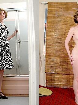 mature dressed vs undressed xxx pics