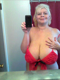 downcast lady over 60 stripping