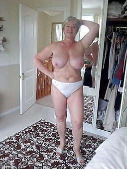 amature grown-up granny lady naked motion picture