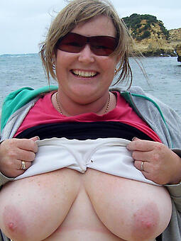 old obese boob mature unconforming