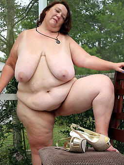 porn pictures of hot bbw superannuated lady