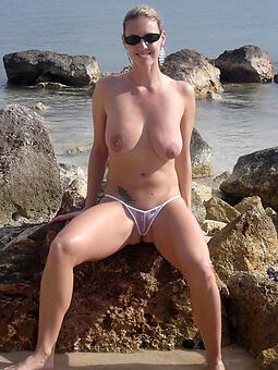 juggs lady all over bikini
