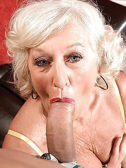 cougar mom gives blowjob