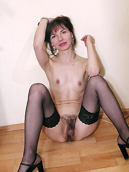 cougar mature small tits unvarnished