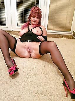 hot stockings mature porno