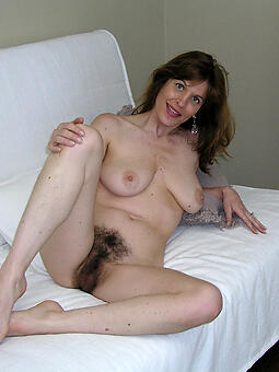 induce hairy grown-up pussy photo