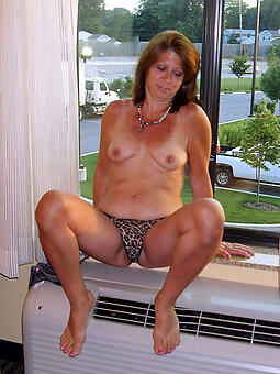 cougar mature fit together in the buff