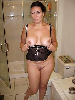 sexy hot mom stripping