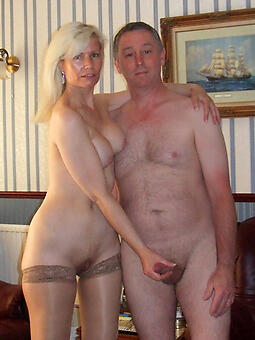 grown-up couple nude brigandage