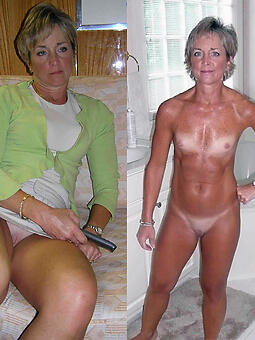cougar moms dressed increased by undressed