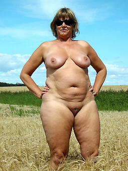 mature obese nude women