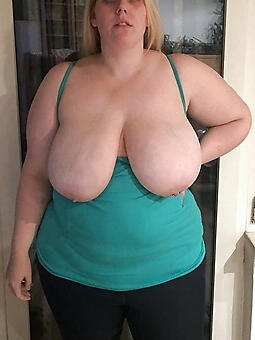hotties lady snow obese tits